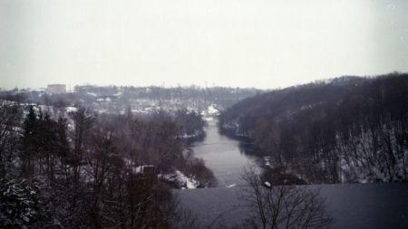Житомирська зима у фотографіях на плівку