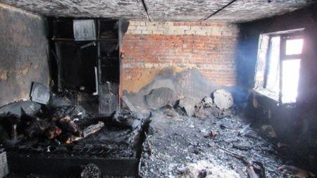 42-річна селянка згоріла заживо на власному ліжку