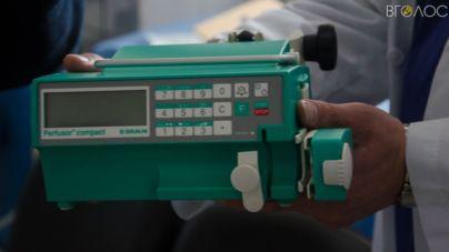 Благодійники передали дитячій обласній лікарні нове дороговартісне обладнання (ФОТО)