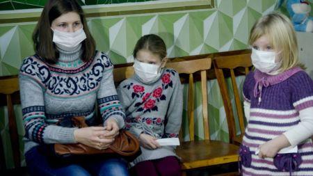 За останню добу на грип та ГРВІ захворіли 186 дітей