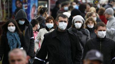 За добу в області захворіли на грип та ГРВІ понад 1500 людей