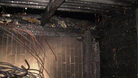 Через пожежу у сільському будинку загинули свині, 30 курей та згоріло сіно