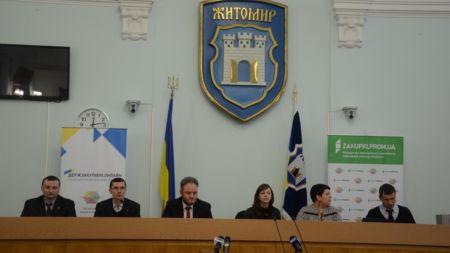 Житомирянам розповіли як економити з електронними закупівлями ProZorro