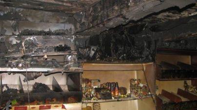 У Лугинському районі сталася пожежа в дерев'яному магазині