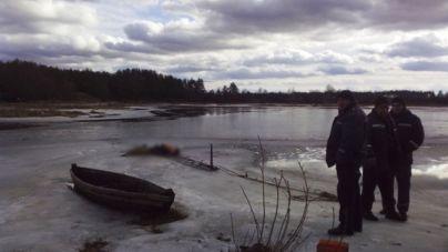 Чоловік втопився через тонку кригу на річці