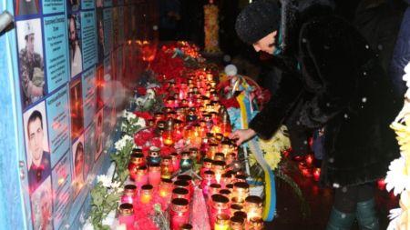 Як житомиряни вшановували пам'ять Героїв Небесної Сотні (ФОТО)