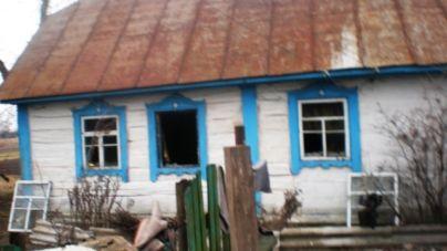 Під час пожежі в дерев'яному будинку загинула жінка