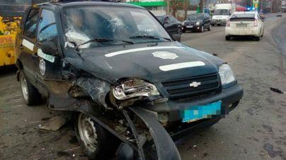 У Бердичеві п'яний чоловік протаранив поліцейську автівку (ФОТО)