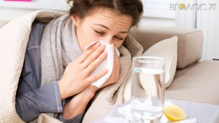 262 житомирянина минулої доби захворіли на ГРВІ та грип