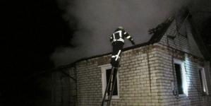 У Соколовському дачному масиві мало не згорів приватний будинок