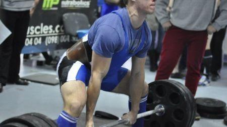 Студент житомирського «політеху» подолав штангу вагою 230 кг на змаганнях із пауерліфтингу (ФОТО)