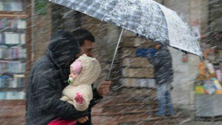 У Житомирі в п'ятницю можливий дощ зі снігом
