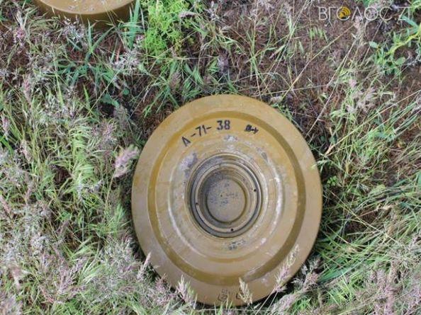 У Радомишльському районі чоловік знайшов протитанкову міну часів війни у 150-ти метрах від свого будинку