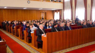 Четверта сесія обласної ради у фото