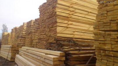 Житомирський ліс вартістю понад 2,5 млн грн незаконно експортували в Азію