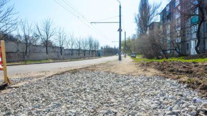 У пошуках велодоріжок: вулиця Космонавтів (ФОТО)
