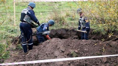 Арсенал зброї відкопали селяни у Радомишльському районі