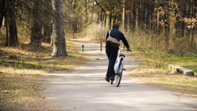 У пошуках велодоріжок: Гідропарк (ФОТО)