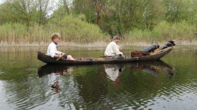 В Олевську реконструювали та випробували на воді перші козацькі чайки