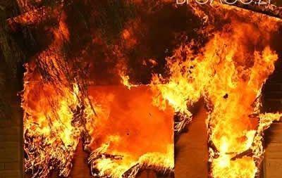 Під час пожежі у Брусилівському районі загинуло подружжя