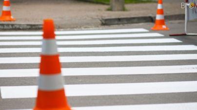 Житомирська міськрада за день витратила на розмітку доріг понад 400 тисяч