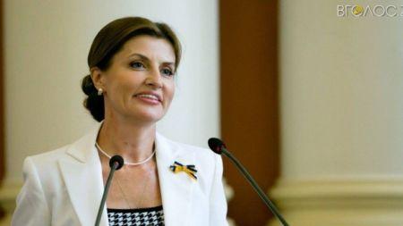 Дружина Президента вдруге приїде до Житомира