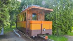 Житомиряни привітали з ювілеєм трамвай, про який забули у мерії