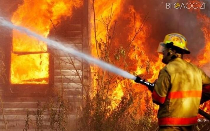 У вихідні рятувальники області 9 разів виїжджали на пожежі