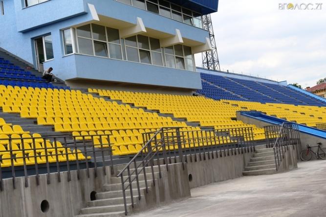На реконструкцію стадіону «Полісся» витратять ще майже 15 мільйонів