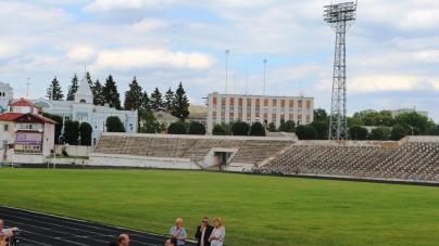 Майже 70% робіт з реконструкції стадіону «Полісся» у Житомирі виконані