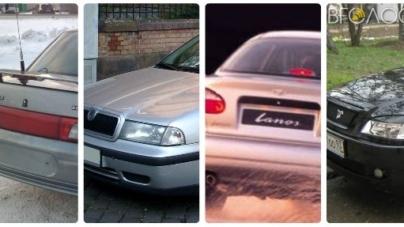 Службові авто новоградських чиновників: хто на чому їздить