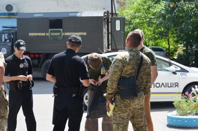 У Житомирі затримали псевдоактивістів, які торгували газетами