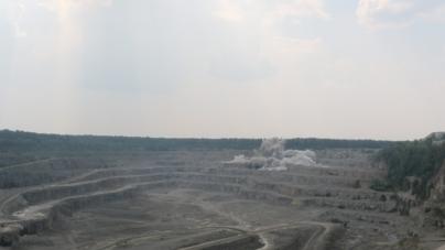 Журналістам показали процес видобутку граніту в Малинському районі (ФОТО)