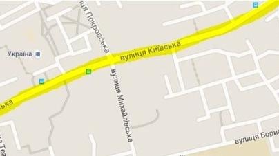 Реконструкцію вулиці Київської проводитиме львівська будівельна компанія