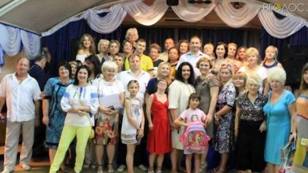 У Житомирі зібрали радомишльських дітей до школи