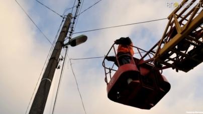 У мерії назвали сім вулиць, на яких капітально відремонтували освітлення (СПИСОК)