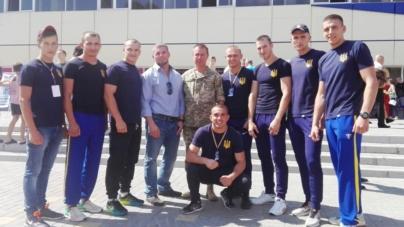 Курсант військового інституту став чемпіоном Європи з універсального бою