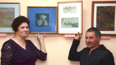 Подружжя художників з Житомира представило спільну виставку (ФОТО)