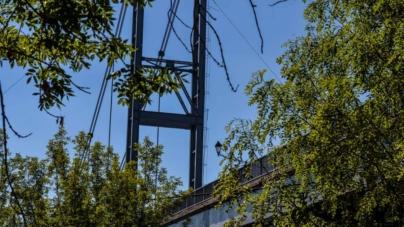За фарбування та освітлення підвісного мосту міська рада заплатить більше мільйона