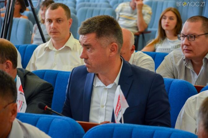 Сухомлин призначив директором КП «Центр інвестицій» депутата Валерія Горба