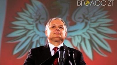 На міськвиконкомі планують дозволити встановити меморіальну дошку загиблому президенту Леху Качинському