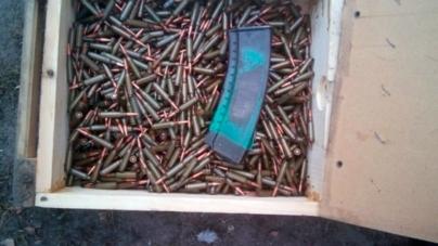 Більше тисячі набоїв до автомата знайшли у жителя Житомирського району