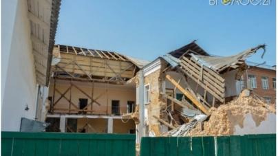 Стало відомо, хто ремонтуватиме зруйнований корпус гімназії №3