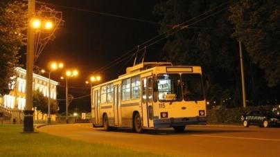 У Житомирі змінили графік руху «нічних» тролейбусів