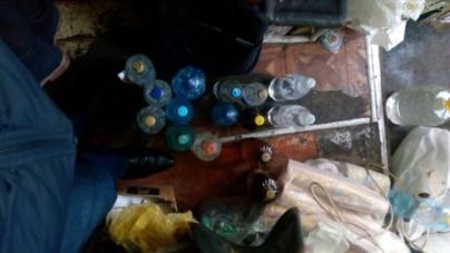 На Житомирщині знову накрили підпільний цех з виробництва фальсифікованого алкоголю
