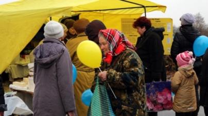 У Луці відбувся ярмарок за сприяння Віталія Сороки