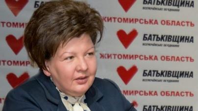 Анжеліка Лабунська подякувала виборцям за підтримку Юлії Тимошенко