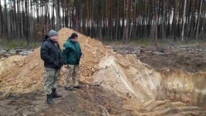 СБУ викрила незаконний видобуток піску в Коростишівському районі