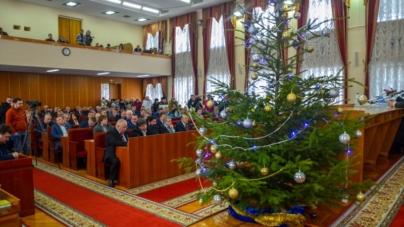 Як відбувалася передноворічна сесія обласної ради (ФОТОРЕПОРТАЖ)