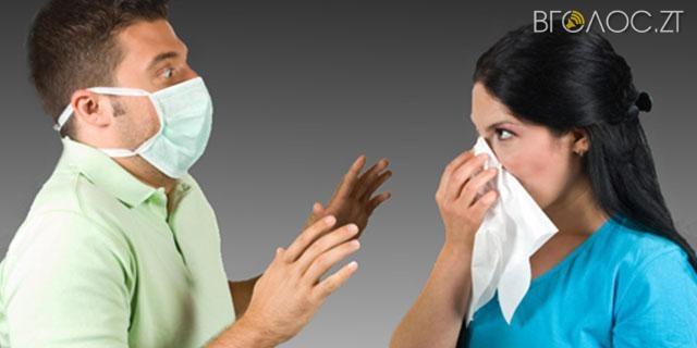За тиждень до свят на грип та ГРВІ захворіли майже 12 тисяч осіб